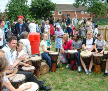 Afro drums activity